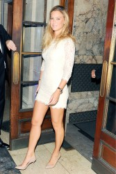 Bar Refaeli Leggy @ MBFW Spring 2013 CR Magazine Launch In NYC September 8, 2012 HQ x 6