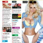 Gatas QB - 100 Sexiest Topless Babes 2012 Nuts Magazine