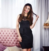 Kelly Brook - New Look Clothing Range Photoshoot