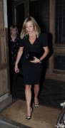 Amanda Holden Leaving Little House Restaurant in London 18th September x9