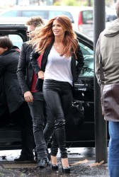 Poppy Montgomery On The Set Of A Photoshoot In Paris September 24, 2012 HQ x 28