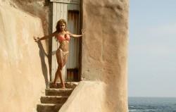 Jennifer Walcott 'Orange Bikini' Set x 23