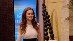 Leighton Meester - Live with Kelly and Michael - 10/3/12