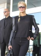 Paris Hilton - (Braless) Arriving at Ataturk airport 8/10/2012
