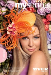 Jennifer Hawkins Myer My Spring Race Catalogue 2012 x 8