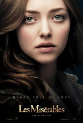 Amanda Seyfried Les Miserables Poster