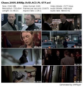 Teoria chaosu / Chaos (2005) BRRip.XviD.AC3.PL-STF / Lektor PL