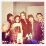 Kristin Kreuk - Charise Garcia Photoshoot 2012 backstage - x23