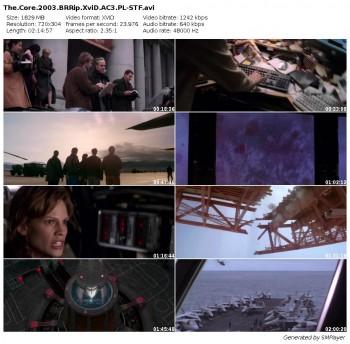 J±dro Ziemi / The Core (2003) BRRip.XviD.AC3.PL-STF / Lektor PL + RMVB + x264