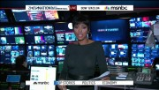 Tamron Hall MSNBC 1/3/12 see-through top HD caps (req.)