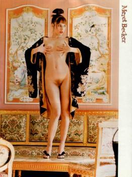 Consider, that meret becker nude pics