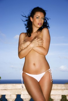 Sophie Howard - UHQ   Topless, Black, Pink and White Bikinis Photoshoots