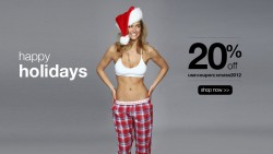 Bar Refaeli Happy Holidays From under.me MQ x 6