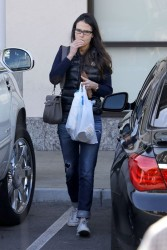 Jordana Brewster - out and about in West Hollywood 12/30/12