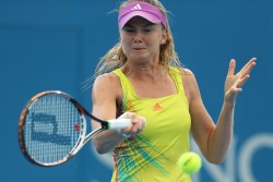 Daniela Hantuchova - Brisbane International Day 3 1/1/13
