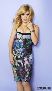 Kelly Clarkson in Cosmopolitan magazine- February 2013