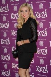 Katherine Jenkins - Cirque Du Soleil's Kooza Opening Night in London 1/8/13