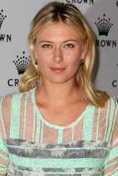Maria Sharapova - Crown's IMG Tennis Player's Party in Melbourne 1/13/13