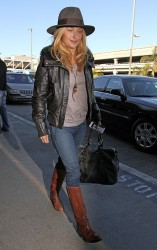 Hayden Panettiere - at LAX Airport 1/14/13