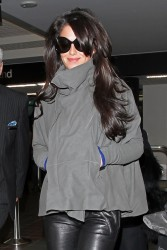 Cheryl Cole - at LAX Airport 1/14/13