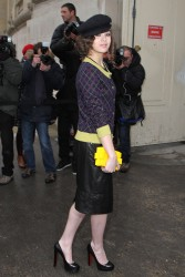 Hailee Steinfeld - Chanel Haute Couture S/S 2013 show in Paris 1/22/13