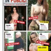 Gatas QB - 50 TV Stars Topless | Jessie, Kerri, Hayley e Nik | Nuts Magazine | 11 Janeiro 2013