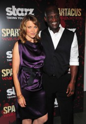 Lucy Lawless - 'Spartacus: War Of The Damned' premiere in NYC 1/24/13