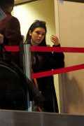 Kendall Jenner at LAX Airport 1/25/13