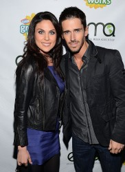 Nadia Bjorlin - Green Works New Campaign Launch in LA 1/23/13