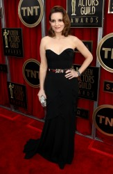 Tina Fey 19th Annual Screen Actors Guild Awards Jan 27, 2013 HQ