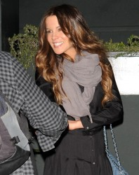 Kate Beckinsale - leaving Tavern restaurant in Brentwood 1/30/13