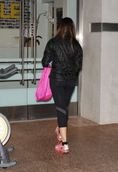 Sofia Vergara - leaving the gym in LA 1/30/13