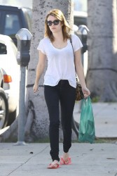 Emma Roberts - at a salon in Beverly Hills 2/4/13