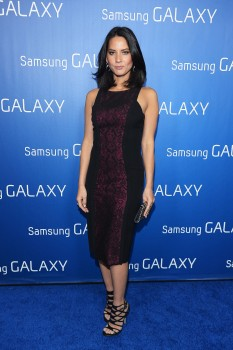 "Olivia Munn @ Samsung Galaxy ""Shangri-La"" party, New Orleans, 02.02.13 - 3 HQ"