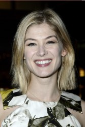 Rosamund Pike - Private View Of PANTA RHEI in London 2/6/13