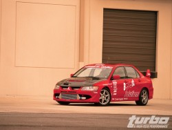 Mitsubishi Lancer Evolution VIII - Jaw Droppper