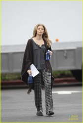 AnnaLynne McCord - on the set of '90210' in LA 2/18/13