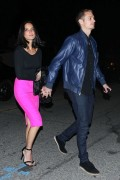 Olivia Munn leaving a party in West Hollywood - February 22, 2013