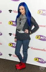 Cher Lloyd - At the Q102 iHeart Radio Concert in Philadelphia 3/1/13