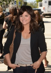 Tiffani Thiessen - John Varvatos 10th Annual Stuart House Benefit in LA 3/10/13