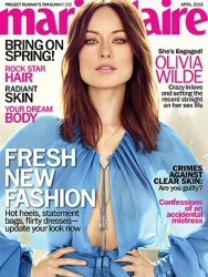 Olivia Wilde - Marie Claire April 2013