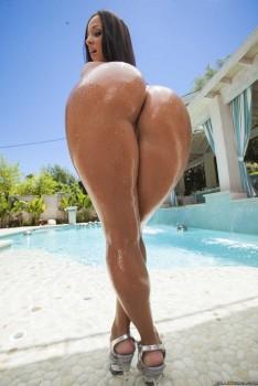 Brazzers - Jada Stevens - Double Anal Poolside