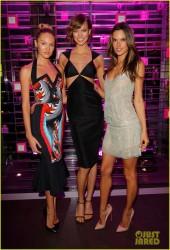 Candice Swanepoel, Karlie Kloss & Alessandra Ambrosio - Victoria's Secret Swim 2013 party in Beverly Hills 3/12/13