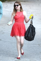 Emma Roberts - at a private party in Beverly Hills 3/13/13