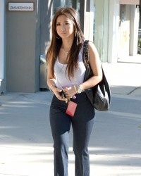 Brenda Song - out and about in LA 3/13/13
