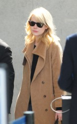 Emma Stone - at LAX Airport 3/14/13