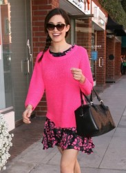 Emmy Rossum - out and about in Beverly Hills 3/14/13