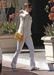 Anne Hathaway - out and about in LA 3/14/13