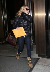 Hayden Panettiere - Leaving her hotel in NYC 3/15/13