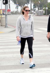 Jennifer Garner - leaves spinning class in Santa Monica 3/16/13